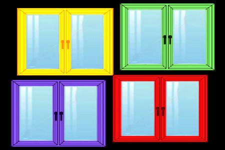 Ferestre din PVC alege culoarea